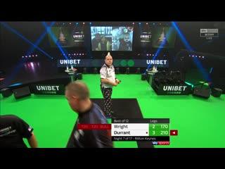Peter Wright vs Glen Durrant (PDC Premier League Darts 2020 / Week 7)