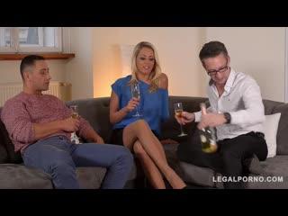 Christen Courtney - GP714 [Legalporno - Glam porn] Anal, Blowjob, DP, Gaping, Threesome