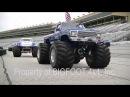 12 BIGFOOT Monster Trucks at the Summit Racing Motorama 2015 - BIGFOOT 4x4, Inc.