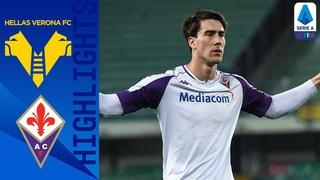 Hellas Verona 1-2 Fiorentina | Cáceres Goal Gives Viola Three Crucial Points | Serie A TIM