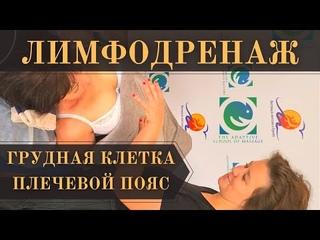 Волновой ЛИМФОДРЕНАЖ. Грудная клетка. Плечевой пояс. Татьяна Яковлева.