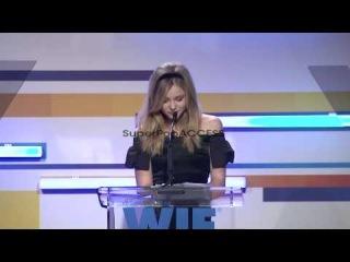 SPEECH: Chloe Grace Moretz 2012 Women In Film Crystal plu...
