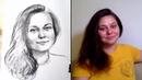 Портрет с натуры.Запуск онлайн мастер-группы по рисованию Портрета с натуры. Ссылка в описании