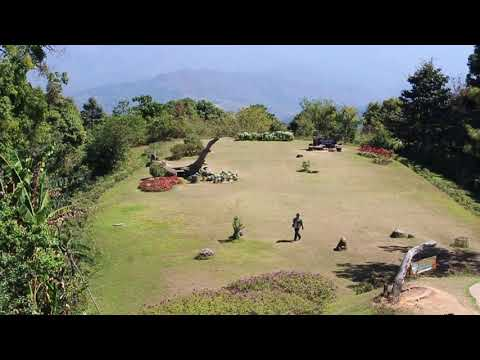 Free Video Footages Viewpoint Huay Nam Dang national park Chiangmai Thailand