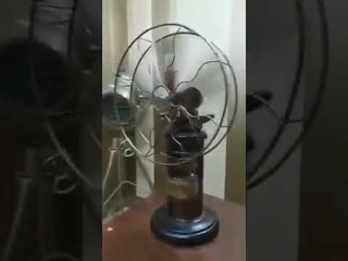 175 year old fan made by the East India Company. When there was no electricity.