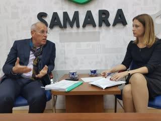 Прямой эфир первого заместителя Главы Самары Владимира Василенко