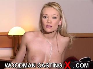 Woodman casting angel
