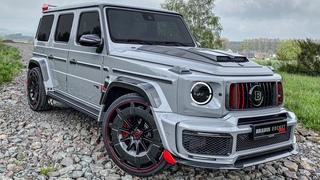 NEW 2022 G900 ROCKET 1 OF 25! Most BRUTAL 900HP BRABUS G-CLASS DRIVE + SOUND!
