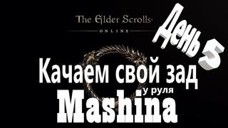 The Elder Scrolls Online : Хил  новичок -  качаемся ( день 5 )