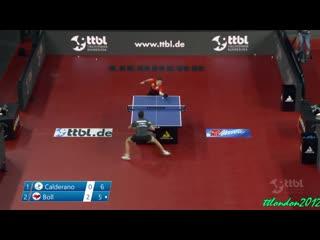 Timo Boll vs Hugo Calderano _ FINAL _ German Cup 2021