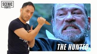 Knife Expert Breaks Down The Hunted Sayoc Kali Knife Scene with Tommy Lee Jones | Scenic Fights