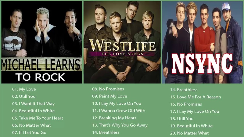Best Of Westlife MLTR Nsync Songs 2018 Best Songs Ever ever