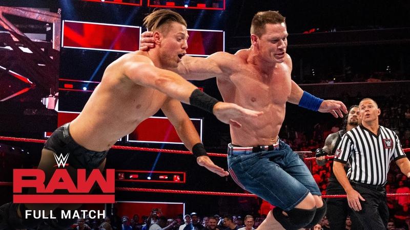 FULL MATCH John Cena Roman Reigns vs. The Miz Samoa Joe Raw, August 21, 2017