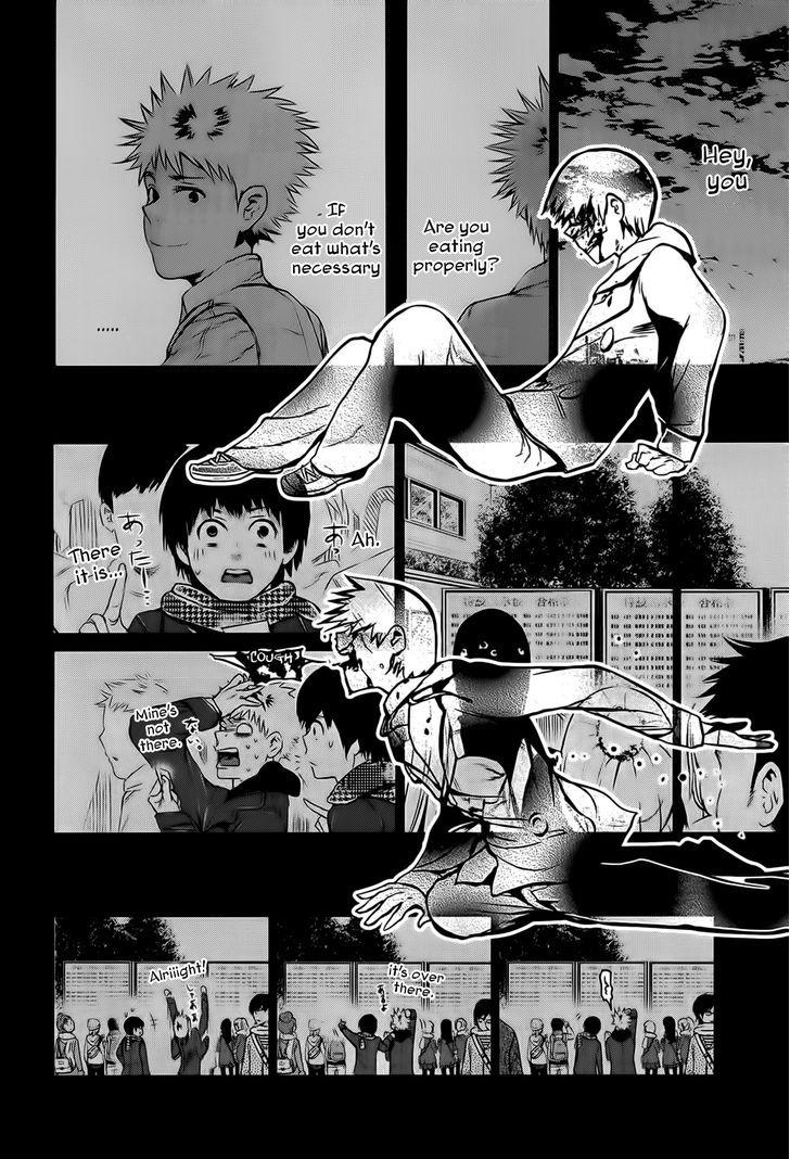 Tokyo Ghoul, Vol.1 Chapter 8 Kagune, image #15