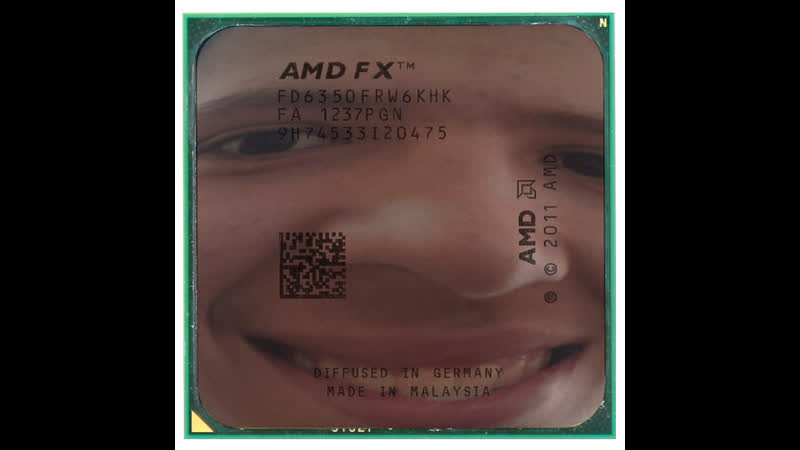 Няг Андрiiв доебался до бедного фикуса FX 6350