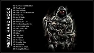 AC/DC ,Iron Maiden , Metallica ,Helloween ,Black Sabbath - Hard Rock Ballads 80s 90s Playlist