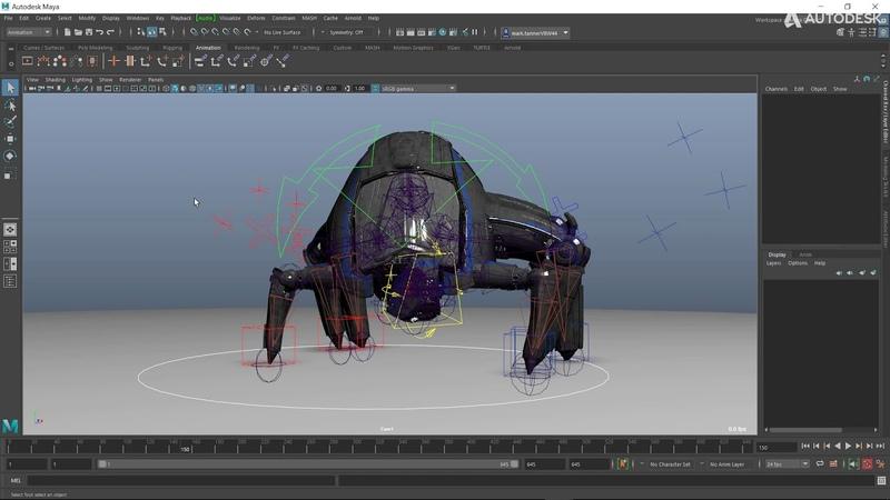 Maya 2020 Cycle Viewport Display Modes