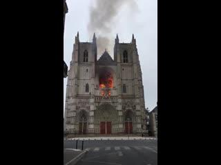 #necro_tv: Пожар в соборе Нанта