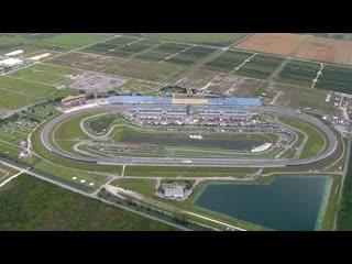 Chopper (blimp) camera - Homestead-Miami - Round 12 - 2020 NASCAR Cup Series