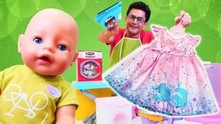 Baby Born bakma oyunu. Nail Baba evde başarılı olabilecek mi?