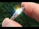 Certified Natural VS1 G 3 Stone Past Present Future Diamond 14k White Gold Ring C729