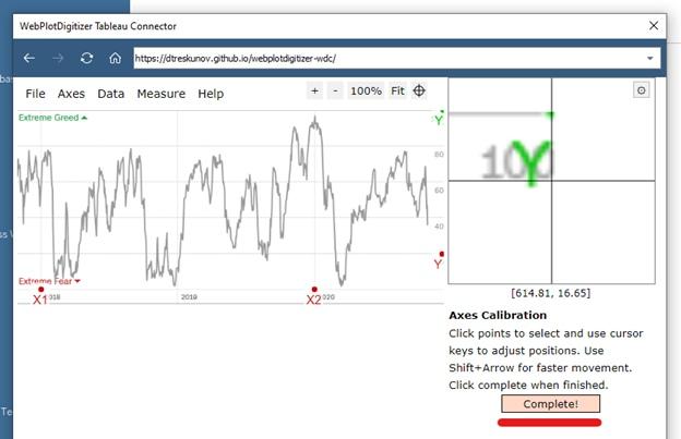 Извлечение данных из графиков при помощи Tableau Web Data Connector (WDC) на примере анализа индекса страха и жадности (Fear and Greed Index), изображение №13