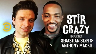 Who Will Chris Evans Text First, Anthony Mackie or Sebastian Stan? - Stir Crazy with Josh Horowitz