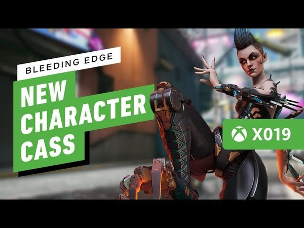 Bleeding Edge's New Character Cass is a Super Jumping Damage Dealer IGN Live X019