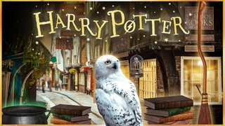 Welcome to Diagon Alley 🔮 [ASMR] Harry Potter & Philosopher's Stone Ambience ✨Walkthrough Shops 📚⚗️🧙
