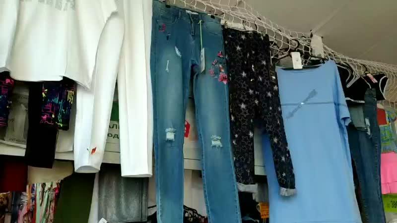 белые брюки🍒🍒🍒 джинсы с цветами 💕💕💕 туника хлопок 500 руб голубая ☘☘☘ бриджи 🌺🌺🌺 капри 💖💖💖 футболка