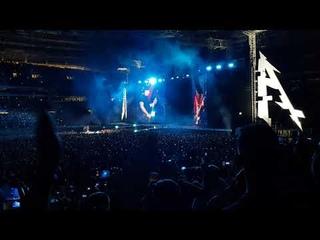 Metallica Группа крови Цой, Москва, Лужники