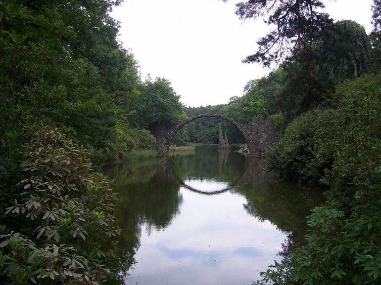 Дьявольский Мост Ракоцбрюке (Германия)