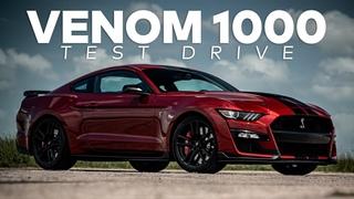 VENOM 1000 GT500 by HENNESSEY // Test Drive!