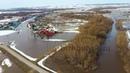 Река вышла из берегов и затопила село в Башкирии – видео