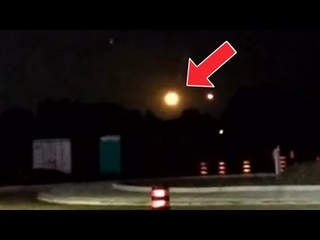 What's going on in Detroit Michigan! huge red ball of light appeared