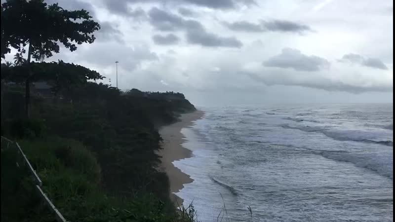 Варкала Центральный пляж в августе 2020