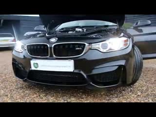 Bmw m4 3.0 twin turbo 2dr coupe dct automatic in sapphire black 2015