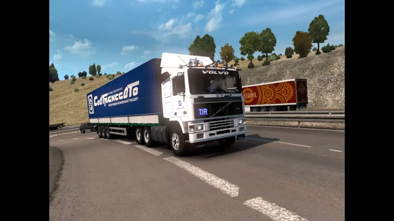 ETS2 по дорогам европы на VOLVO F16