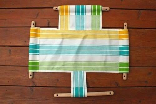 Качелька для ребенка (источник: gofazenda)