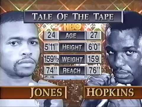 Рой Джонс vs Бернард Хопкинс лучшее из боя