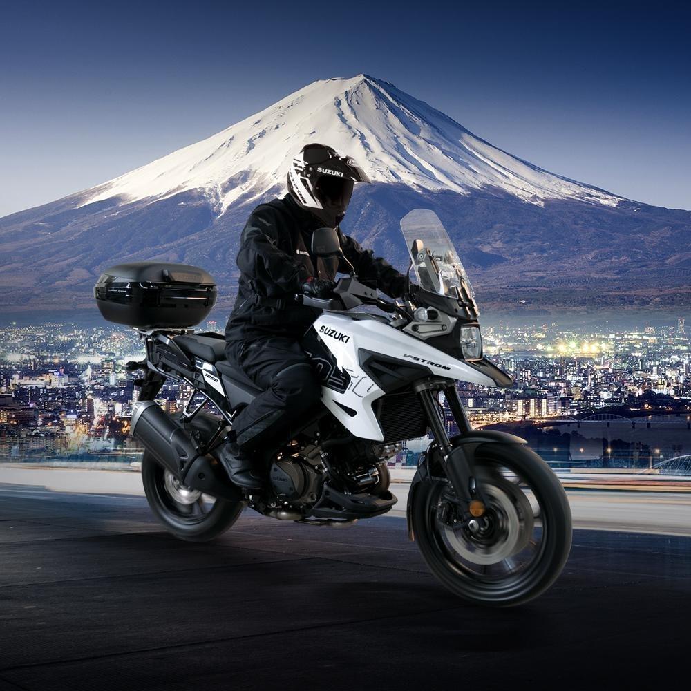Мотоцикл Suzuki V-Strom 1050 Machi Edition представили в Европе