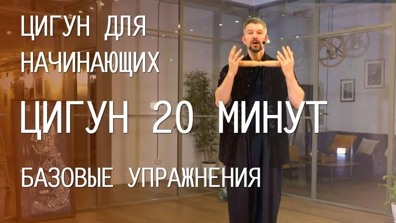 Цигун для начинающих Базовые упражнения Видео уроки для занятий дома 20 минут