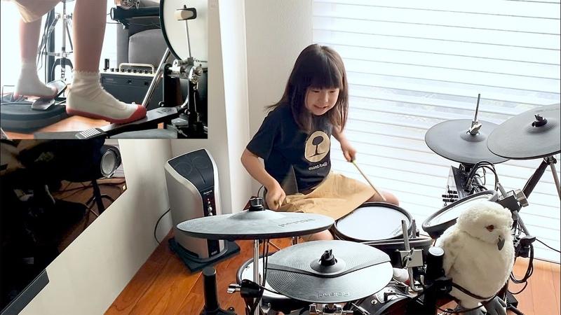 けいおん K ON GO GO MANIAC 7歳ドラム 叩いてみた