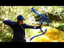 Building Amazing New Style PVC Power Springs Back Bowfishing For Shooting Huge Fish -Make n Use
