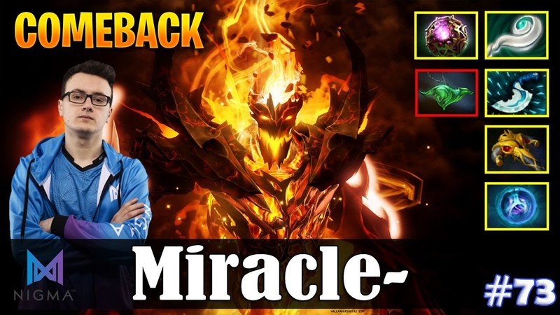 Miracle - Shadow Fiend MID | COMEBACK | Dota 2 Pro MMR Gameplay 73
