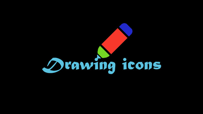 Drawing icons