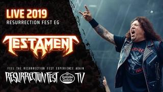 Testament - Live at Resurrection Fest EG 2019 (Viveiro, Spain) Full Show, Pro Shot