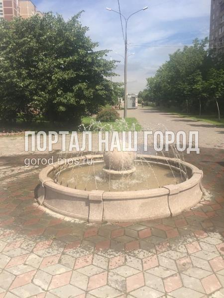 На Пронской отремонтировали фонтан