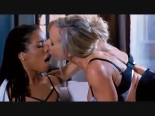 Hot lesbian love office love brandi love