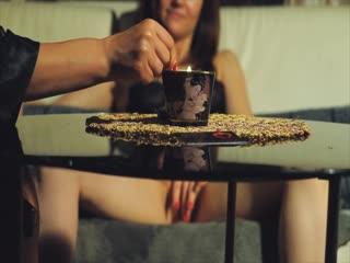 Массажные свечи - эротический массаж